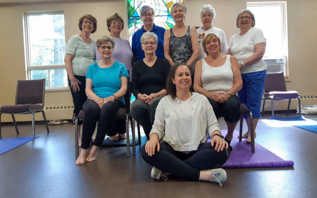 Maple Grove seniors fitness classes wrap-up 2019.